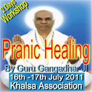 Pranic Healing 2 Days workshop By Guru Gangadhar Ji