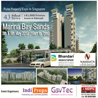 Pune Realty Expo in Singapore
