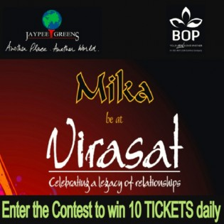 Virasat - an Evening with Mika Singh at Fairmont