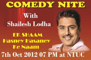 Comedy Nite With Shailesh Lodha