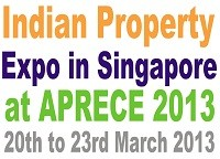 Indian Property Expo in Singapore at APRECE 2013