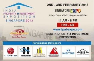 Indian Property & Investment Exposition 2013 Singapore Expo