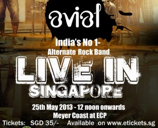 Indian Rock Show by Avial live in Singapore