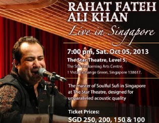Ustad Rahat Fateh Ali Khan Live in Concert in Singapore