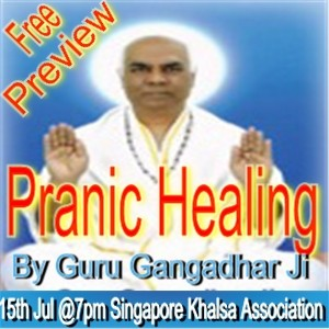 Pranic Healing Free Preview By Guru Gangadhar Ji