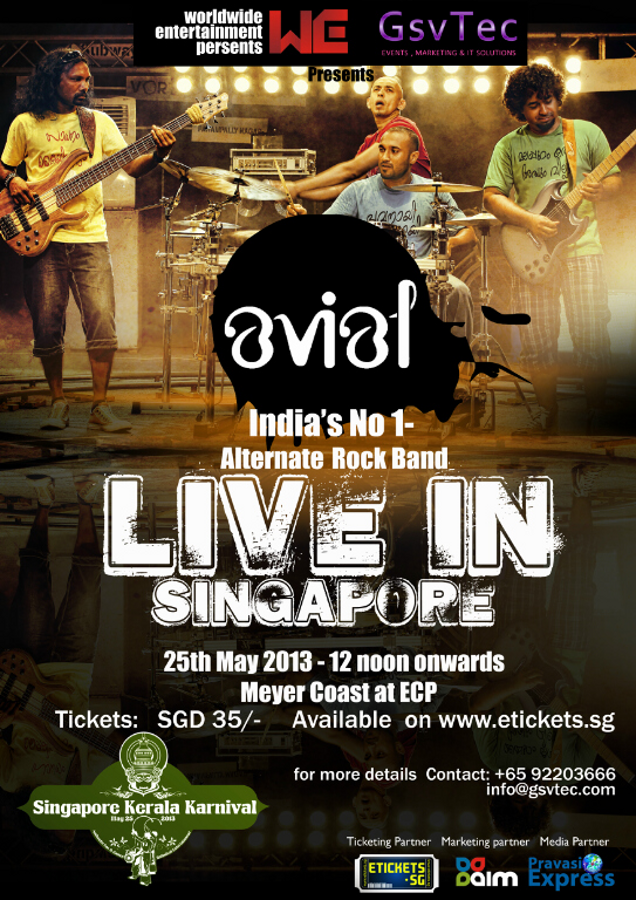 best of indian rock show in singapore at beach on may 25th 2013 event by gsvtec and worldwide entertainment