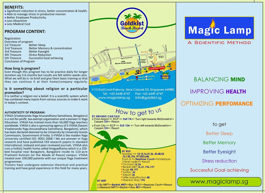 magic lamp free stress relief camp