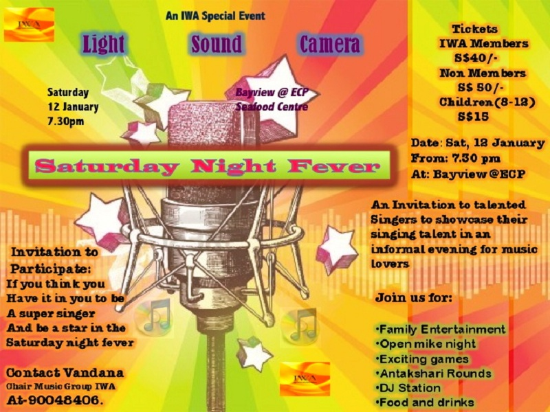 saturday night fever an event by iwa music