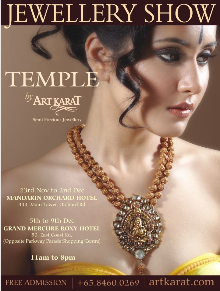 art karat jewellery show - Temple collection