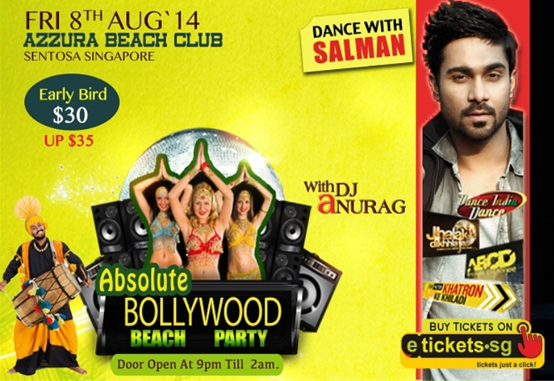 absolute bollywood beach party 2014 singapore
